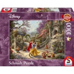 Disney Dancing Snow White, Kinkade 1000 stukjes