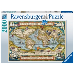 Around the World Ravensburger 2000stukjes