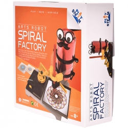 PlaySTEAM - Arts Robot Spiral Factory