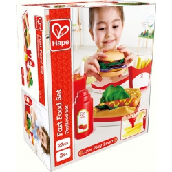 Houten Fast Food set, Hape