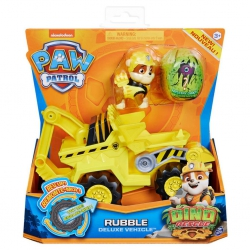 Paw Patrol - Dino Deluxe themed vehicle - Rubble