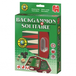 Backgammon & Solitaire Compact