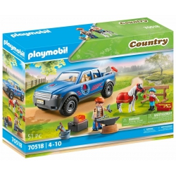 Playmobil - Country Mobiele hoefsmid 70518