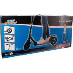 New Sports, Scooter/step, Dusty met luchtbanden, 205 mm, ABEC 7 carbonlagers