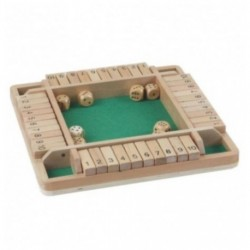 Shut the Box dobbelspel 4 pers.