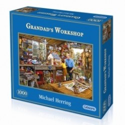 Grandad`s Workshop  Gibsons Puzzel