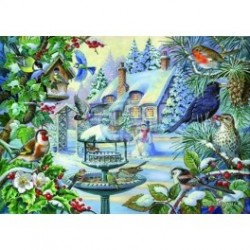 Winter Birds, Hop Puzzels 500 XL stukkjes