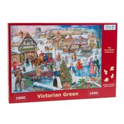 Victorian Green, The House of Puzzles 1000 stukjes
