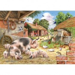 Poppy's Piglets, The House of Puzzles 500xxl stukjes