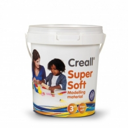 creall supersoft 5 stukken klei in emmer