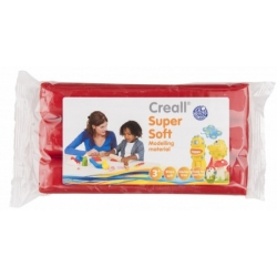 creall supersoft klei blok rood