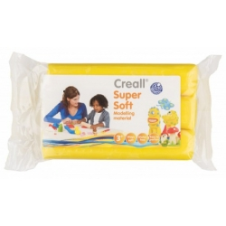 creall supersoft klei blok geel