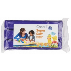 creall supersoft klei blok paars