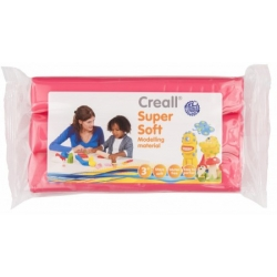 creall supersoft klei blok roze