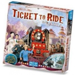 Ticket to Ride Asia - Bordspel, Asmodee
