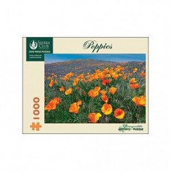 Poppies 1000st Pommegranate