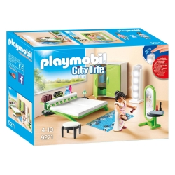 Playmobil City Life 9271 Slaapkamer met Make-up Tafel
